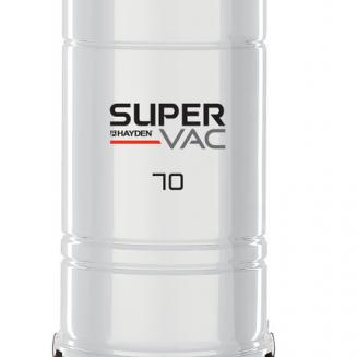 HAYDEN  SUPER VAC 70E WHITE HYBRID - центальный пылесос 700 AirWt Канада
