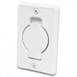 Inlet round door White