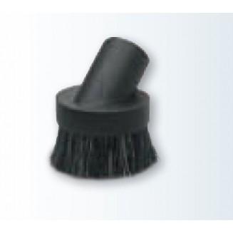 Economical round dusting brush, black