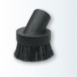 Economical round dusting brush, black