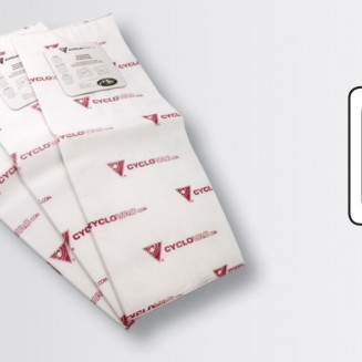 3 heavy duty electrostatic filter bags:  H715, H2015, H7515